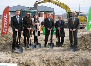 Comienzan las obras de construcción del nuevo Centro de Formación Stihl